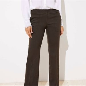 NWT LOFT 0P Marissa Trousers